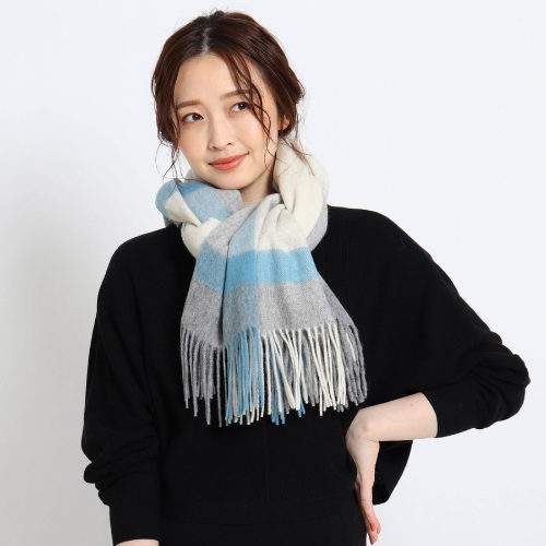 Reflect/ウォッシャブルチェックストール/¥7,000+税