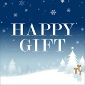 「大切な人へHAPPYを贈る、ギフト特集」バナー画像