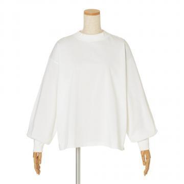 12closet 【石上美津江さんコラボ】【洗える】 ギャザースリーブTシャツ ¥8,900 + 税