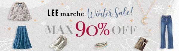LEEmarche Winter Sale! MAX90%OFF