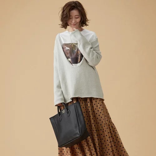 YOUNG & OLSEN The DRYGOODS STORE/レザートートバッグ M/¥30,000+税