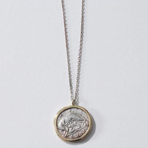 GIGI/Roman coin necklace/¥48,000+税