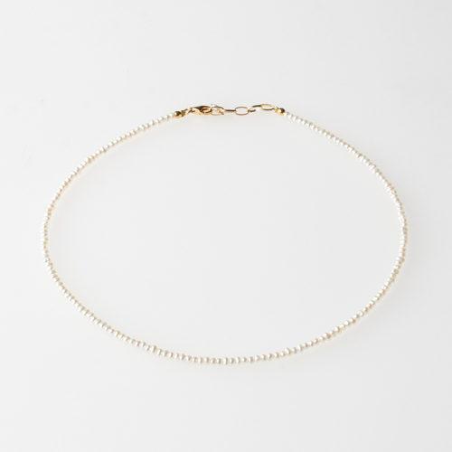 Pearl International/ミニパールネックレス 37cm(ゴールド)/¥14,000+税