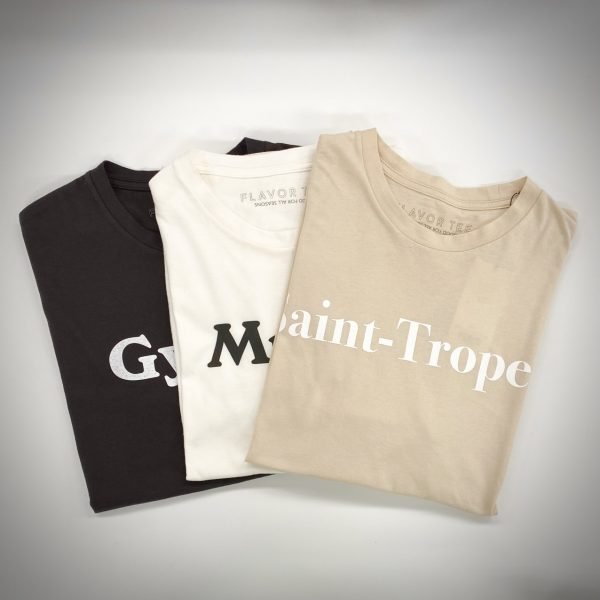 FLAVOR TEE YOMOGI DROP ロゴTシャツ ¥6,000+税
