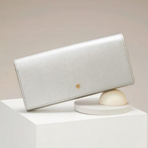 TOPKAPI/角シボ型押し・かぶせのフタ長財布 CLASSICO クラシコ/¥16,000+税