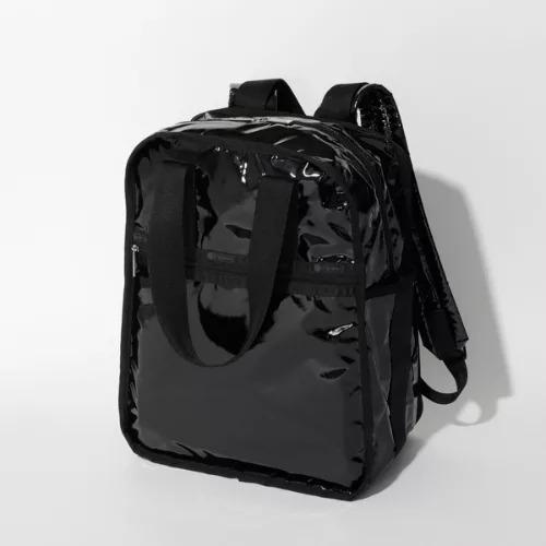 LeSportsac/URBAN EDITORS BACKPACK/ブラックパテント エイチティー/¥22,000+税