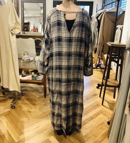 LoroKaftan Check Dress¥29,000+税