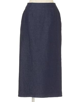 12closet/【石上美津江さんコラボ】【洗える】丈が選べるロングデニムスカート/¥13,000