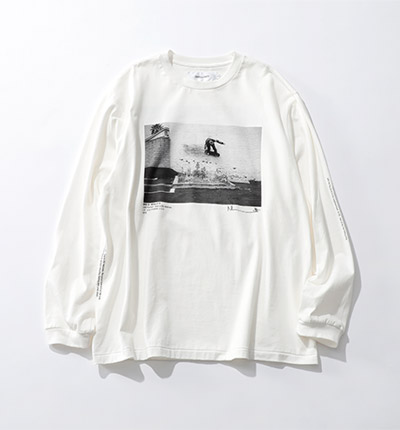 JANE SMITH JACK FARDELL WALL RIDE & GRIND & DROP L/S T-SHIRT¥14,000+税