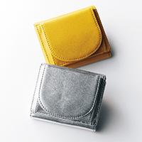 [水晶玉子さんコラボ]B5 きらきらポーチ付き三つ折り財布/12closet
