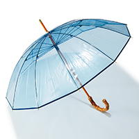 BAMBOO CLEAR UMBRELLA/Traditional Weatherwear