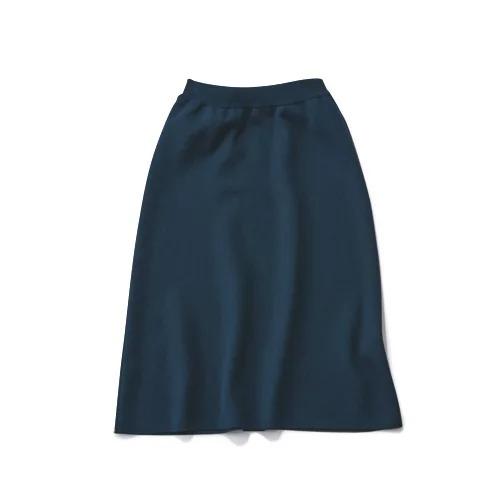 SLOANE 【LEE別注】12G ウールダブルジャカード スカート