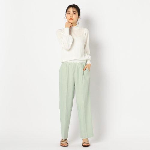 NOLLEY'S/アイレット柄ハイネックプルオーバーニット/¥11,800+税