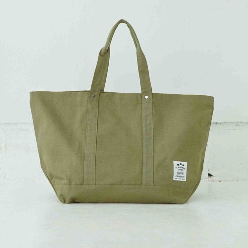 FLANDERS LINEN PRODUCTS/コットンリネントートバッグ L/¥4,700+税