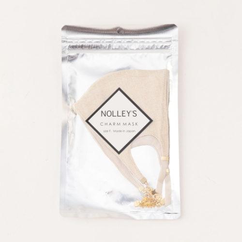 NOLLEY'S/麻調チャームマスク/¥2,900+税