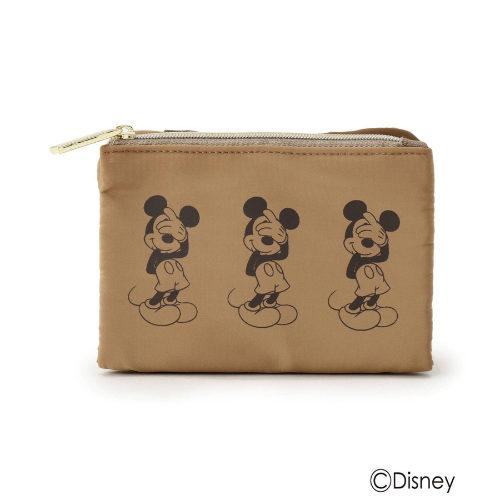 pink adobe/Disney 【ミッキー&ミニー】マルチポーチ/¥1,998+税