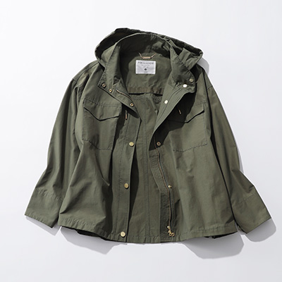 MICA & DEAL wather-proof nylon blouson¥29,000+税