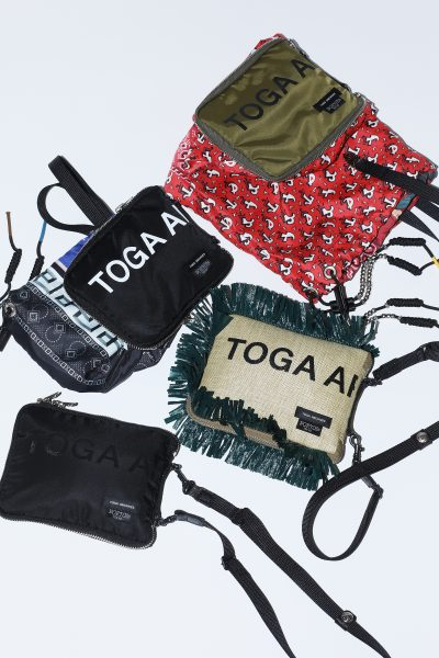 TOGA ARCHIVESPackable tote TOGA × PORTER