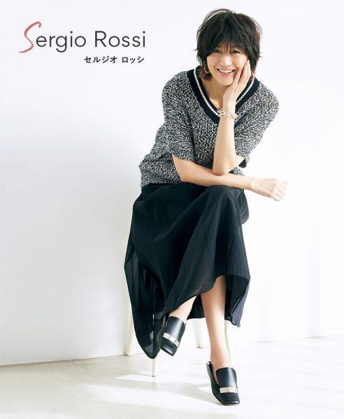 Sergio Rossi×eclat(セルジオ ロッシ)