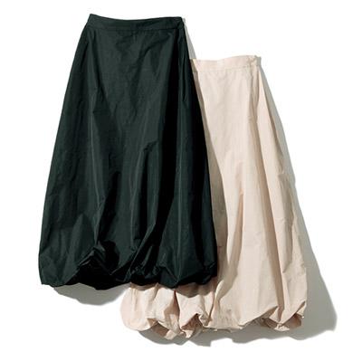 地曳いく子×eclat バルーンスカート