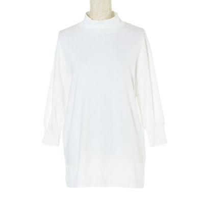 村山佳世子×LOEFF(ムラヤマカヨコ×ロエフ) ギャザースリーブTシャツ