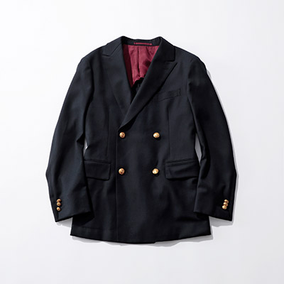 Scye for suadeo 【Scye for suadeo】限定ダブルジャケット¥68,000+税