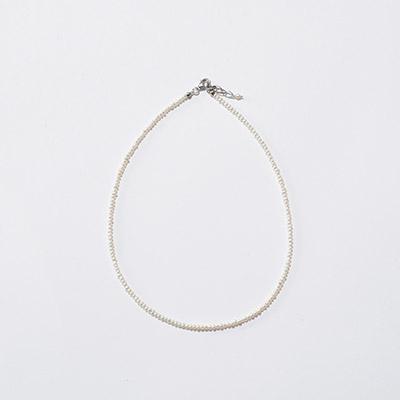 Pearl International ミニパールネックレス 37cm(シルバー)¥13,000+税