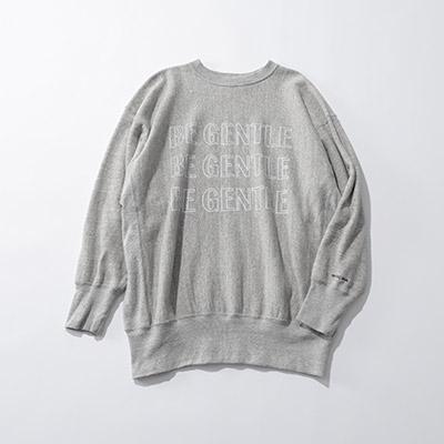 AMERICANA ラフィーバルキー裏毛ロゴスエット¥19,800+税