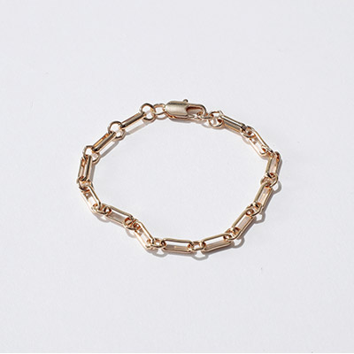 LAURA LOMBARDI BAR CHAIN(ブレスレット)¥10,000+税