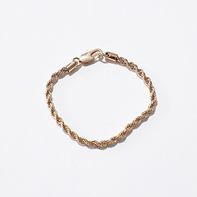 LAURA LOMBARDI ROPE CHAINS (ブレスレット)¥10,000+税