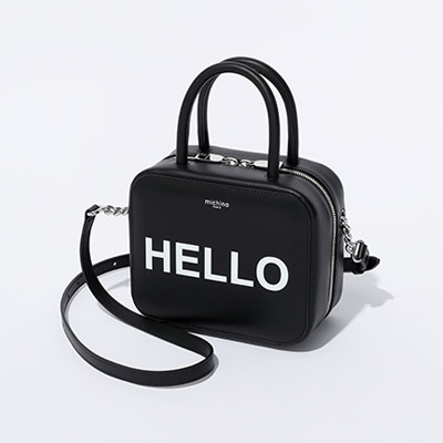 Michino Paris SQUARIT PM HELLO BAG¥60,000+税