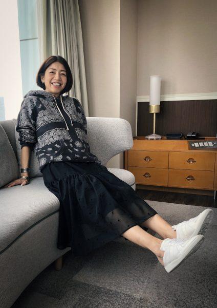 AKIRANAKA【別注】TULE T-DR¥45,000+税 リラックス