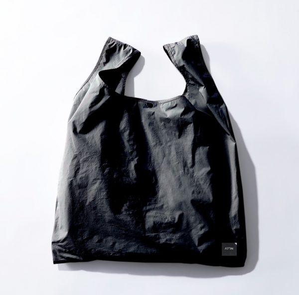 ATON【別注】エコBAG付ラウンドヘムノースリーブTホワイト、ピンク、ブラック¥14,300(税込み)エコバッグ