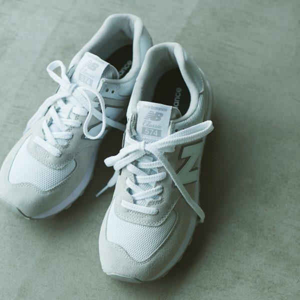 定番モデルのホワイトは、 コーディネートに馴染む万能さ! New Balance・ML574【STANDARD BOOK 2021SS】