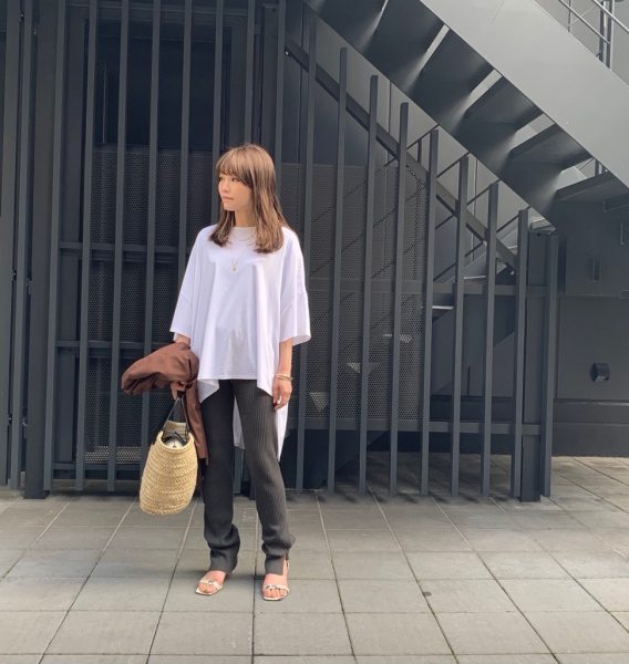 CASA FLINEOrganic cotton ニットレギンス¥15,400(税込)