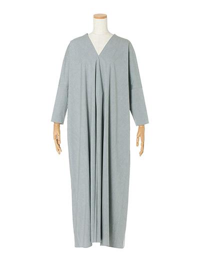 ATON ドレープドレス