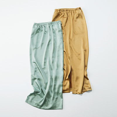 E by eclat 艶とろIラインスカート