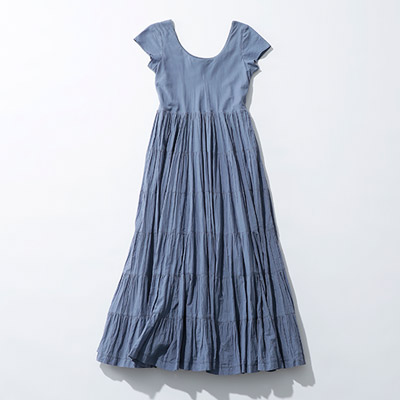 MARIHA 草原の虹のドレス(ショートスリーブ)