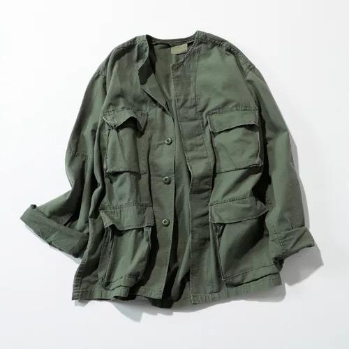 ROTHCOアーミージャケット CREWリメイク / フーディー(UNISEX)¥14,080