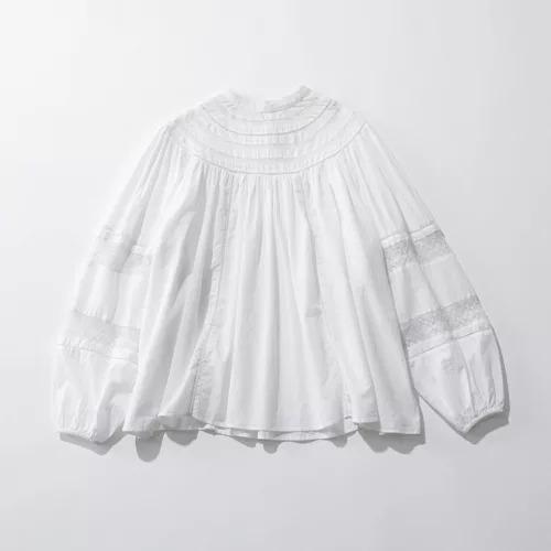 MICA & DEALround lace blouse¥25,300(税込)