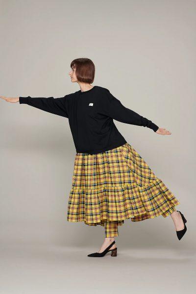 beautiful people別注 suvin pima jersey long T-shirt¥22,000(税込)BLACK