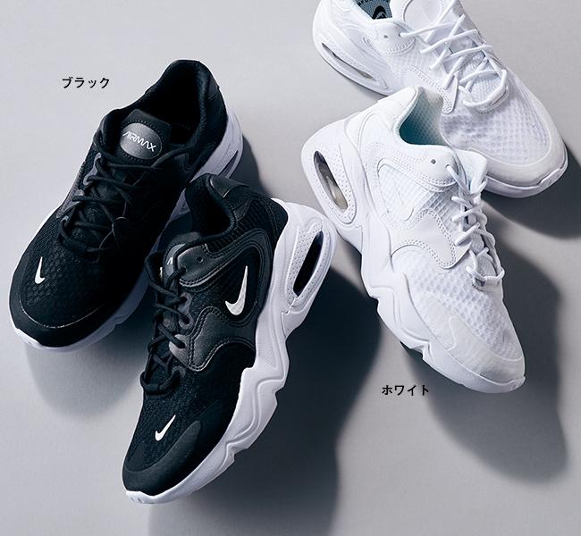 ナイキ ウィメンズ エアマックス 2 ブラック、ホワイト/NIKE