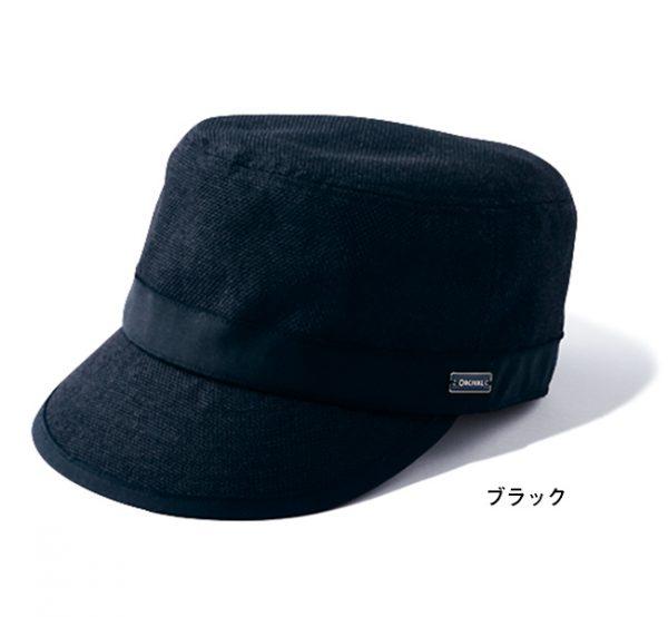 ラフィア風キャップ ブラック/ORCIVAL