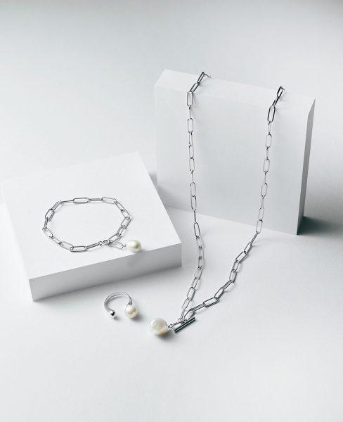 M7days bijoux イヤカフ/チェーンブレスレット/チェーンネックレス