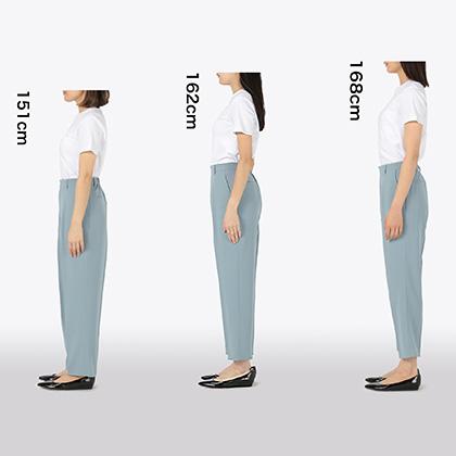【初夏版】低身長・高身長さんもきっと見つかる!身長別着丈を比較してみました!