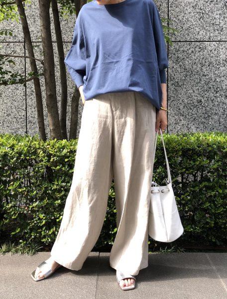 GALLARDAGALANTE×eclat ドルマンカットソー ¥14,300(税込)バイヤーT着用