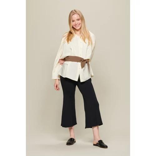 AKIRANAKA Carmela flare knit pants¥42,900(税込)