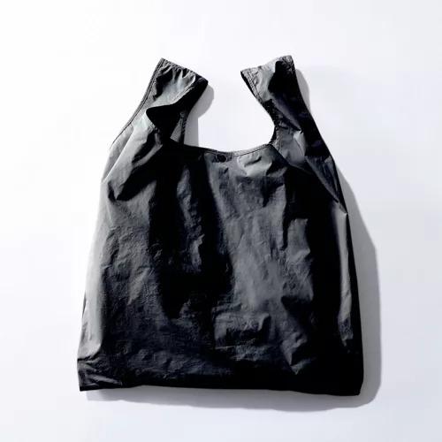 ATON【別注】エコBAG付ラウンドヘムノースリーブT¥14,300付属のエコバッグ