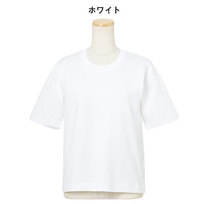 コンパクトTシャツ ホワイト/CINOH