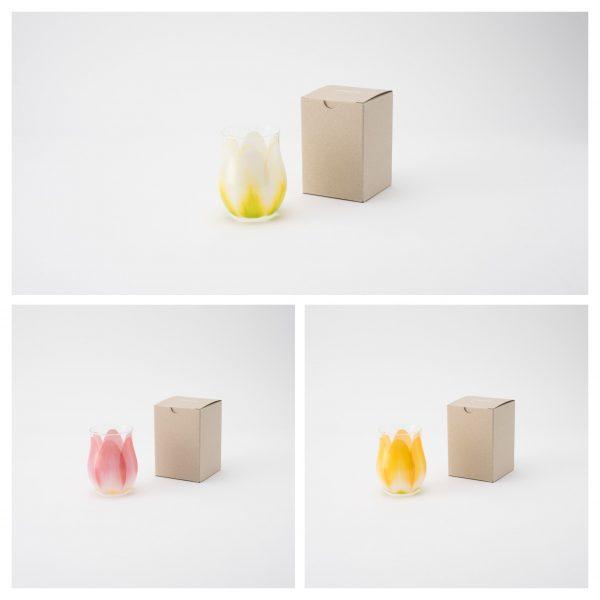Floyd (フロイド)/チューリップ グラス Tulip Glass/レッド・ホワイト・イエロー/¥2,200(税込)/箱写真